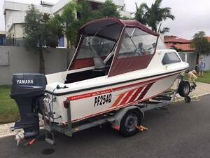 Caribbean Crestcutter with a Yamaha (2004) 90 hp on trailer Runaway Bay Gold Coast North Preview