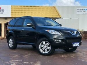 2013 Great Wall X200 CC6461KY MY11 (4x4) Black 5 Speed Automatic Wagon East Victoria Park Victoria Park Area Preview