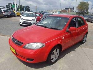 2005 Holden Viva JF Red 5 Speed Manual Hatchback Greenacre Bankstown Area Preview