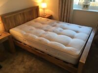 Solid Mango Double Bed