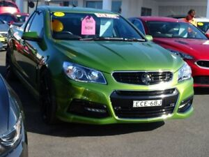 2015 Holden Ute VF MY15 SV6 Ute Green 6 Speed Manual Utility Albion Park Rail Shellharbour Area Preview