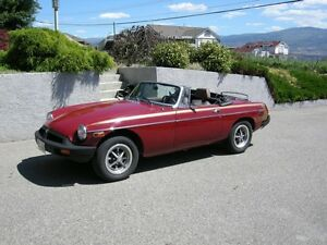 1980 MGB with rebuilt motor and other extras