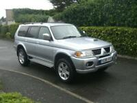 MITSUBISHI SHOGUN SPORT 2.5TD WARRIOR 2006 (06) IMMACULATE ONLY 81,000 MILES FSH