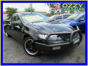 2008 Ford Falcon FG R6 Black 6 Speed Manual Cab Chassis