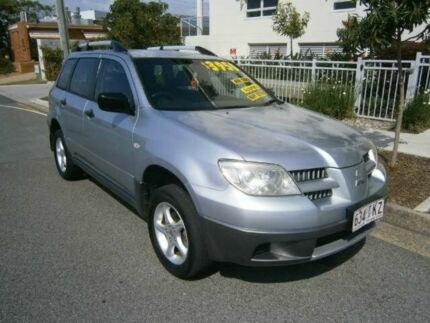 2004 Mitsubishi Outlander ZF LS Silver 4 Speed Semi Auto Wagon Redcliffe Redcliffe Area Preview