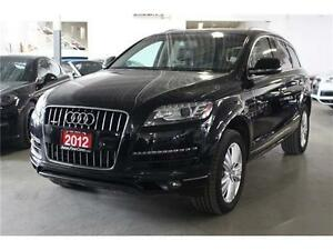 2012 Audi Q7 3.0 NAVIGATION SYSTEM! PANORAMIC ROOF!