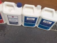 Swimming pool chlorine and other chemicals