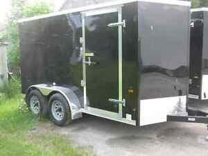 "6 x 12 +18"" V-NOSE TRAILER / TANDEM AXLES / RAMP Oakville / Halton Region Toronto (GTA) image 1"