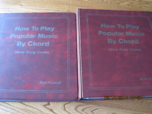 How to Play Popular Music by Chord Home Study Course 2 Binders