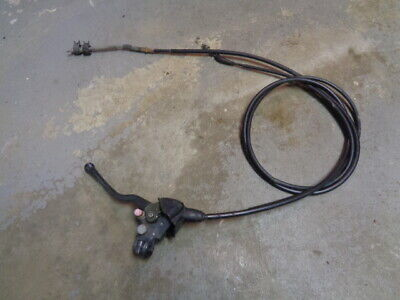 02 Honda Recon 250 Brake Perch and Cables Reverse Cable B5301