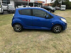 2011 Holden Barina TK MY11 Blue 5 Speed Manual Hatchback Kippa-ring Redcliffe Area Preview
