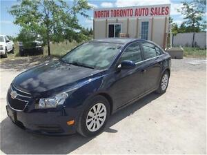 2011 CHEVROLET CRUZE LT TURBO - CLEAN VEHICLE - LOW KM
