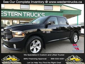 2014 Ram 1500 Sport 4x4 ~ Loaded ~ Sunroof ~ Nav ~ $287 B/W Edmonton Edmonton Area image 1