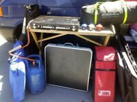 Campervan/camping gear all ready to go