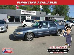 2007 Mercury Grand Marquis LS Ultimate,LEATHER,SUNROOF!!