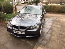 BMW 3 Series 2.0 320d M Sport Touring 5dr Automatic Grey 2007/57 109000 miles