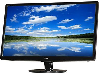 "شاشة ليد جديد Acer S241HLbmid  Black 24"" 5ms HDMI Widescreen LED Backlight LCD Monitor"