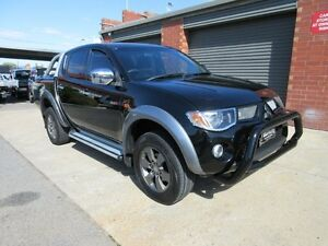 2008 Mitsubishi Triton ML MY08 GLX-R (4x4) Black 4 Speed Automatic 4x4 Double Cab Utility Holden Hill Tea Tree Gully Area Preview