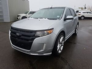 2013 Ford Edge AWD SPORT Rear DVD,  Leather,  Heated Seats,  Bac