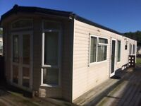 Huge 2 bedroom caravan for sale off park with central heating and double glazing