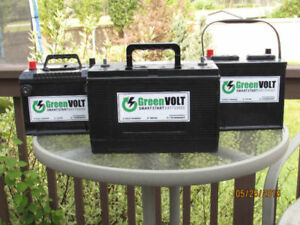 GreenVolt Batteries $49.99+1yr warranty