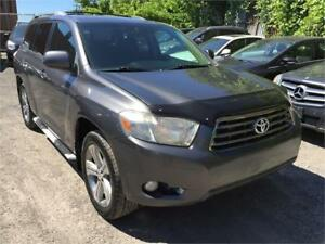 VENDU 2008 Toyota Highlander Sport AWD 7 PLACES