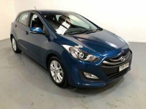 2014 Hyundai i30 GD MY14 Trophy Blue 6 Speed Automatic Hatchback Kooringal Wagga Wagga City Preview