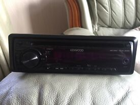 KENWOOD CD player/Aux