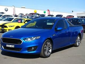 2016 Ford Falcon FG X XR6 Ute Super Cab Blue 6 Speed Sports Automatic Utility Albion Park Rail Shellharbour Area Preview