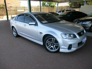 2010 Holden Commodore VE II SV6 Silver 6 Speed Automatic Sedan