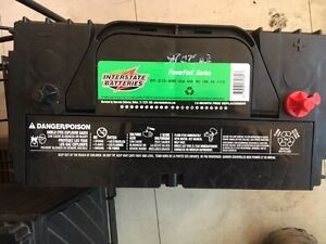 Interstate Batteries -Truck size - with warranty Peterborough Peterborough Area image 2