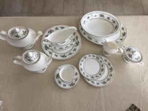 12  piece place setting very large set