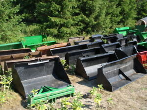 Great Selection of Used Material Buckets