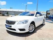 2010 Toyota Aurion GSV40R MY10 AT-X White 6 Speed Sports Automatic Sedan Woodridge Logan Area Preview