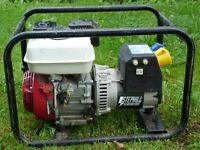 Honda GX160 Stephill Portable Generator