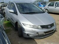HONDA CIVIC 2006 ONWARDS 1.8 TYPE S BREAKING FOR SPARES TEL 07814971951 HAVE FEW IN STOCK