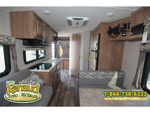 NEW 2017 Forest River Shamrock 19 Hybrid Travel Trailer Windsor Region Ontario image 15