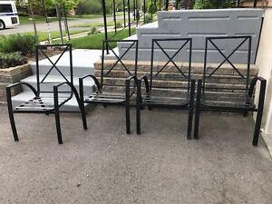 Patio chair (set of four)