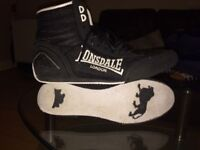 Lonsdale Boxing Boots - Size 11