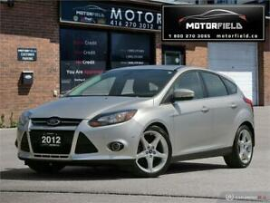 2012 Ford Focus  HB Titanium *Accident Free, Navi, Autopark*