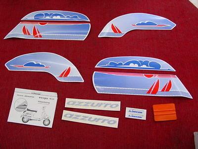 Aufkleber Patch Sticker; Decorset azzurro VESPA PK 50 XL; Rarität NEU Lagerware