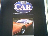 """""""THE CAR"""" MAGAZINES IN 8 FOLDERS - COMPLETE"""
