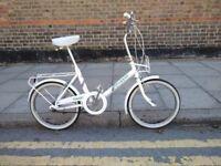 Vintage Raleigh shopper 3 speed bike