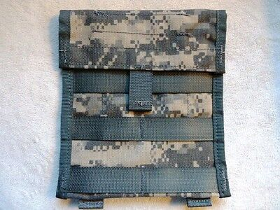 US Military MOLLE II Admin Pouch in ACU (Universal Camo) (General Admin Pouch)