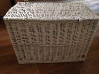 White box for storing goods