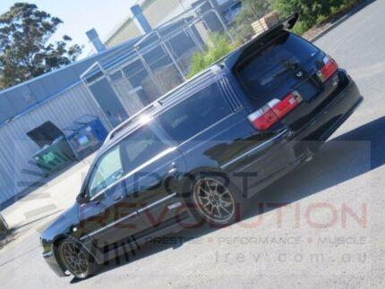 1998 Nissan Stagea WGNC34 Autech 260RS Black Manual Wagon