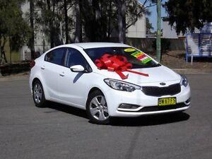 2013 Kia Cerato YD MY13 S White 6 Speed Sports Automatic Sedan Kings Park Blacktown Area Preview