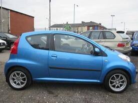 PEUGEOT 107 1.0 Urban, (antigua blue) 2006