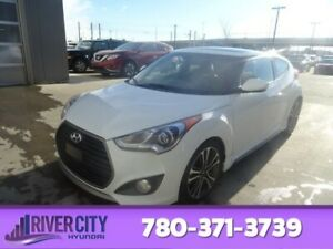 2017 Hyundai Veloster TURBO TECH Navigation (GPS),  Leather,  He