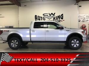 2012 Ford F150 Supercrew FX4 / Leather/Roof/Lift/Rubber/Financig